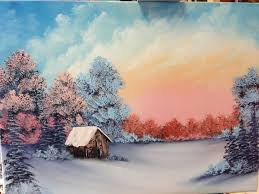 bob ross painting for beginners