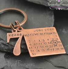 i still do key chain personalized anniversary date by pearliegirl Wedding Anniversary Keychain personalised key ring date tag calendar charm with number 7 years charm solid copper gift for wedding anniversary gbp) by personalizedtreazure 25th wedding anniversary keychain