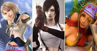 Final fantasy girl character