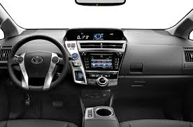 2015 prius interior. interior 2 2015 toyota prius v wagon two 5dr photo