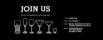 Happy Hour Invitation Template Free Happy Hour Online Invitations Evite