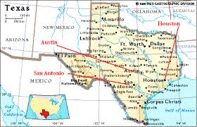 Map City Of 253489 Texas