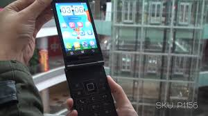 lenovo mobile android phone 2017. lenovo a588t 3g flip smart phone android 4.4 quad core 1.2ghz 4\ mobile 2017 o
