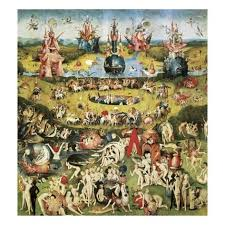 garden of earthly delights poster. The Garden Of Earthly Delights Poster T