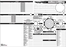 dungeons and dragons character sheet online five awesome d d 5e character sheets clever move