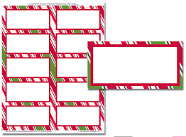 christmas address labels templates happy holidays template  it