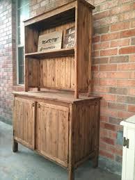 kitchen furniture hutch. Wooden Pallet Kitchen Hutch Furniture