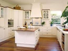 Full Size of Wooden Countertop Wooden Floor White Wall Cabinets Additional  Modern Design Decor With Provincial ...