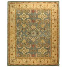 safavieh anatolia light blue ivory 9 ft x 12 ft area rug