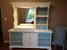 Refinishing Bedroom Furniture Inspiring Refinishing Vintage Cabinetry With White Polished As