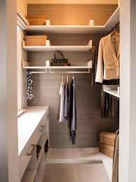 Custom Small Walk In Closet Idea