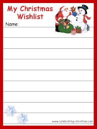 Christmas - Kids Games, Stories, Activities and Clipart Christmas Gift  Wishlist
