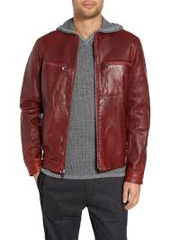 john varvatos star usa trapunto leather racer jacket
