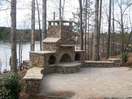 fireplace outdoor fireplace plans for backyard exterior using pavers diy how to plan building an patio