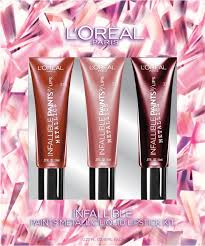 l oreal holiday makeup kit 29 99 five full size favorites from l oreal including two of their new paints metallic shadow
