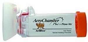 Aerochamber Age Chart Aerochamber Plus Spacer Device Infant Small Face Mask Orange 0 18 Months