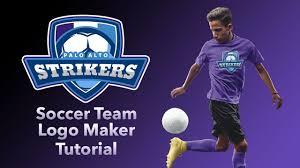 Soccer Logo Maker How To Make A Soccer Team Logo
