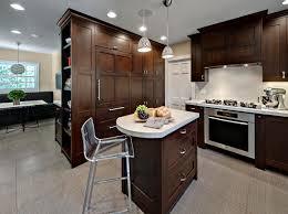 Kitchen Furnishing Decoration Contemporary Oak Wood Kitchen Furnishing With Small