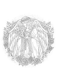 Small Picture angel Myths legends Coloring pages for adults JustColor
