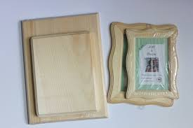 easy layered wooden frames tutorial