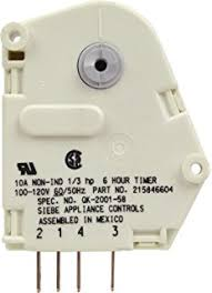 amazon com supco uet120 defrost timer home improvement Whirlpool Defrost Timer Wiring Diagram frigidaire 215846604 defrost timer Whirlpool Freezer Defrost Timer