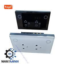 Ổ cắm âm tường wifi Tuya - 2500W, Kết nối wifi, điều khiển qua điện thoại -  dientuthongminh.vn