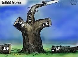 judicial activism it s not just a river in