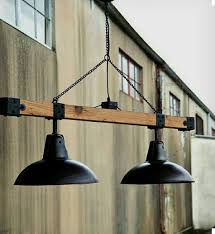 warehouse style lighting. Warehouse Lights Beam Industrial Vintage Style Loft Shop Garage Chandelier Pool In Collectibles, Lamps, Lighting, Ceiling Fixtures Lighting