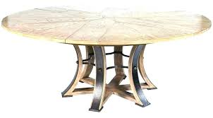expandable dining table plans round expandable dining room table round expanding dining table free woodworking plans