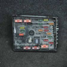 vw passat fuses fuse boxes vw passat b6 fuse relay box 3c0937125a