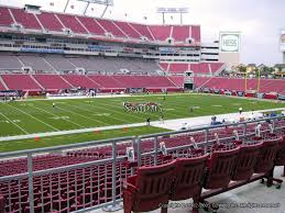 Raymond James Stadium Section 232 Tampa Bay Buccaneers