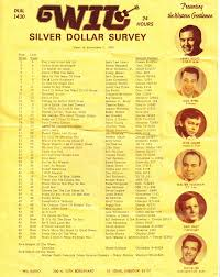 1969 Music Charts Wil Am Stl Silver Dollar Survey Country 11 3 1969 In