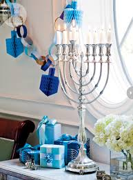 interior hanukkah home decor hanukkah wrapping ideas and menorah