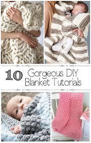 pin it on 10 gorgeous diy blanket tutorials arm knit