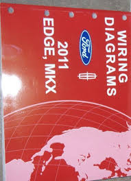 ford edge lincoln mkx electrical wiring diagram service shop 2011 ford edge lincoln mkx electrical wiring diagram service shop repair manual