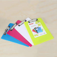 clipboard office paper holder clip. Plastic A5 A4 File Paper Clip Writing Board Document Clipboard Office Supplies Holder