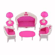 dolls furniture set. BARGAIN HOUSE Doll House Furniture Toy Set Dollhouse Sofa Chair Couch Desk Lamp For Barbies Dolls Disassembled Bedroom O