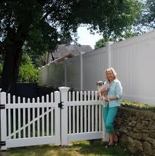 Vinyl Chestnut Hill Spindle Fence Panel Atlas Outdoors