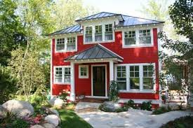 Red houses with white trim Cottage Red House With Dark Gray Metal Roof White Trim Pinterest Red House With Dark Gray Metal Roof White Trim Have Red House