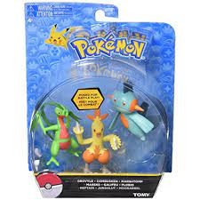 TOMY Pokemon 3 Pack, characters May Vary