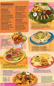 mexican food menu.  Food Throughout Mexican Food Menu O