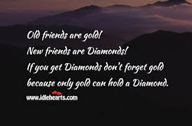 Golden Words Of Friendship Enchanting Old Memories Quotes Friends