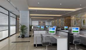 ceiling designs for office. ceiling wall pillars and floortoceiling windows in office hall designs for d