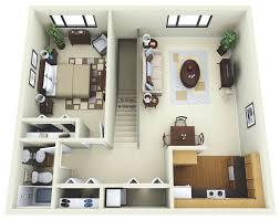 Floor Plans For Garage Apartments  Home Design Ideas Garage With Apartment Floor Plans