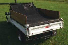 Truck Bed Tarp Cover Access Roll Up Truck Bed Covers Canvas Tarp ...