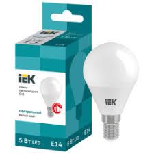 «<b>лампа светодиодная</b> 5Вт E14 220В шар <b>SHOLTZ</b> 4000К ...