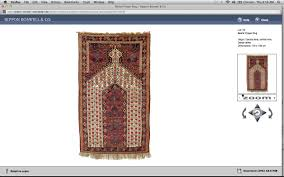 rippon boswell rk s preview beshir prayer rugs lot 54 above and lot 78 below rippon bowell 2012