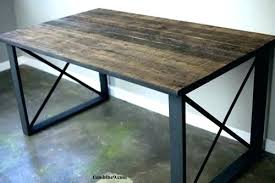 steel and wood dining table wood and steel table urban wood and steel urban wood steel steel and wood dining table