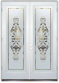 interior glass doors glass front doors