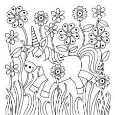 Free Printable Unicorn Colouring Pages For Kids Buster Childrens